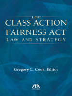 The Class Action Fairness Act