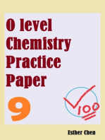 O level Chemistry Practice Papers 9