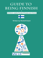 Guide to Being Finnish + BONUS