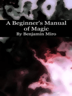 A Beginner's Manual of Magic
