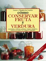 Cómo conservar fruta y verdura