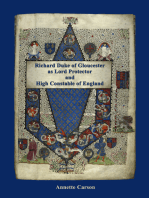 Richard Duke of Gloucester as Lord Protector and High Constable of England