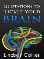 Quotations to Tickle Your Brain
