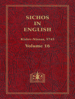 Sichos In English, Volume 16