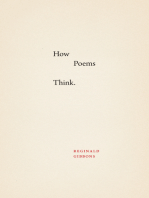 How Poems Think