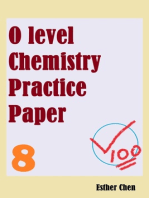 O level Chemistry Practice Papers 8