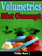 Volumetrics Diet Concept