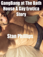Gangbang At the Bath House a Gay Erotica Story
