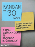 Kanban in 30 Days: Modern and efficient organization that delivers results