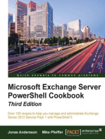 Microsoft Exchange Server PowerShell Cookbook - Third Edition