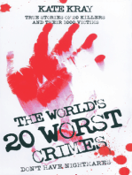 World's 20 Worst Crimes