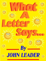 What A Letter Says