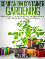 Companion Container Gardening