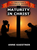 Maturity In Christ