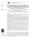 Case Studies on Sustainability Learning