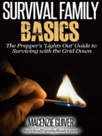 The Prepper's 'Lights Out' Guide to Surviving with the Grid Down (Survival Family Basics - Preppers Survival Handbook Series)