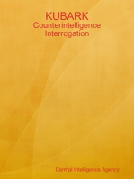 KUBARK: Counterintelligence Interrogation
