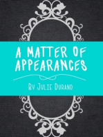 A Matter of Appearances