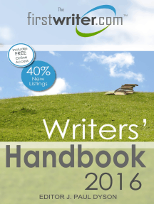 Writers' Handbook 2016