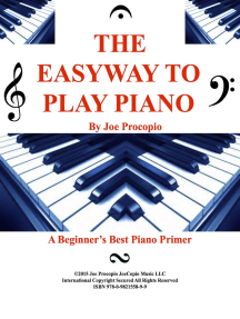 The Easyway to Play Piano: A Beginner's Best Piano Primer