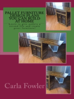 Pallet Furniture Design Plans You Can Build at Home