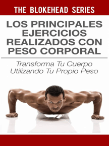 Los principales ejercicios realizados con peso corporal