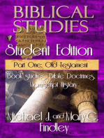 Biblical Studies Student Edition Part One