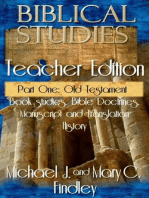Biblical Studies Teacher Edition Part One