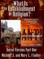 What is an Establishment of Religion?