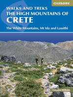 The High Mountains of Crete: The White Mountains, Psiloritis and Lassithi Mountains