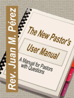 The New Pastor's User Manual