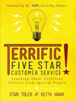 Terrific! Five Star Customer Service