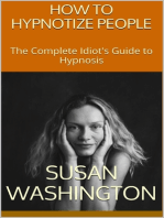 How to Hypnotize People