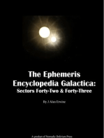 The Ephemeris Encyclopedia Galactica Sectors Forty-Two & Forty-Three