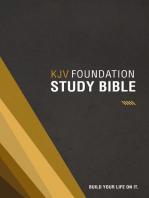 KJV, Foundation Study Bible, eBook