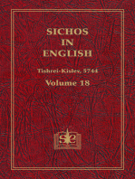Sichos In English, Volume 18