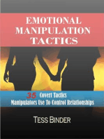 Emotional Manipulation Tactics: 35 Covert Tactics Manipulators Use To Control Relationships