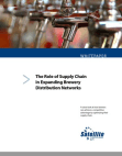 White Paper on Role of Supply Chain in Expanding Brewery Distribution Networks