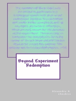 Beyond Experiment Redemption