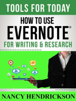 How to Use Evernote for Writing and Research (Writing Skills, #3)