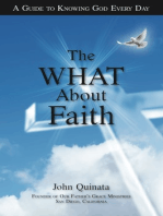 """The """"What"""" About Faith"""