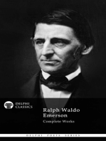 Delphi Complete Works of Ralph Waldo Emerson (Illustrated)