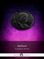 Delphi Complete Works of Sallust (Illustrated)