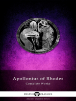 Complete Works of Apollonius of Rhodes (Illustrated)