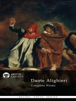 Delphi Complete Works of Dante Alighieri (Illustrated)