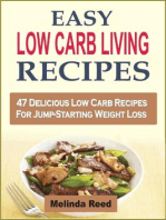 Easy Low Carb Living Recipes