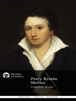 Delphi Complete Works of Percy Bysshe Shelley (Illustrated)