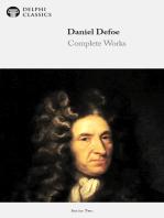 Delphi Complete Works of Daniel Defoe (Illustrated)