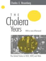 The Cholera Years