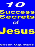 10 Success Secrets of Jesus
